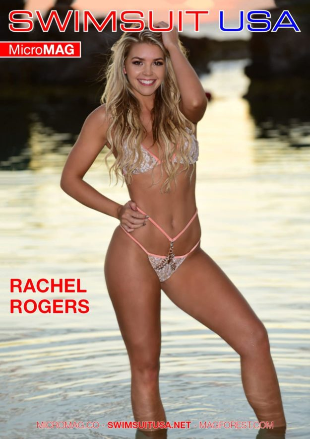 Swimsuit Usa Micromag – Rachel Rogers – Issue 2