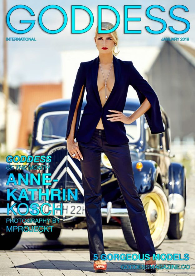 Goddess Magazine – January 2019 – Anne-kathrin Kosch