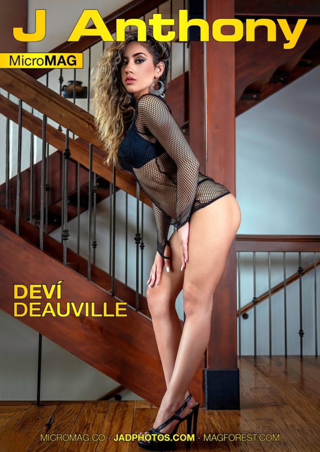 J Anthony Micromag – Deví Deauville – Issue 12
