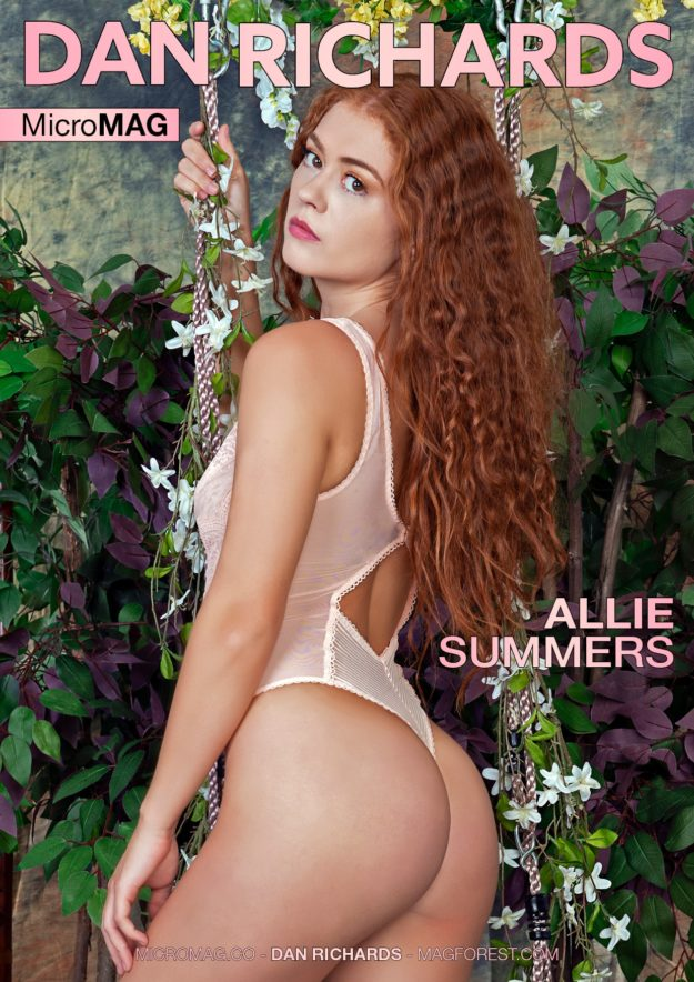 Dan Richards Micromag – Allie Summers – Issue 2