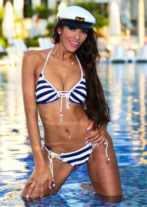 Swimsuit Usa Micromag – Chanelle Lee – Issue 2