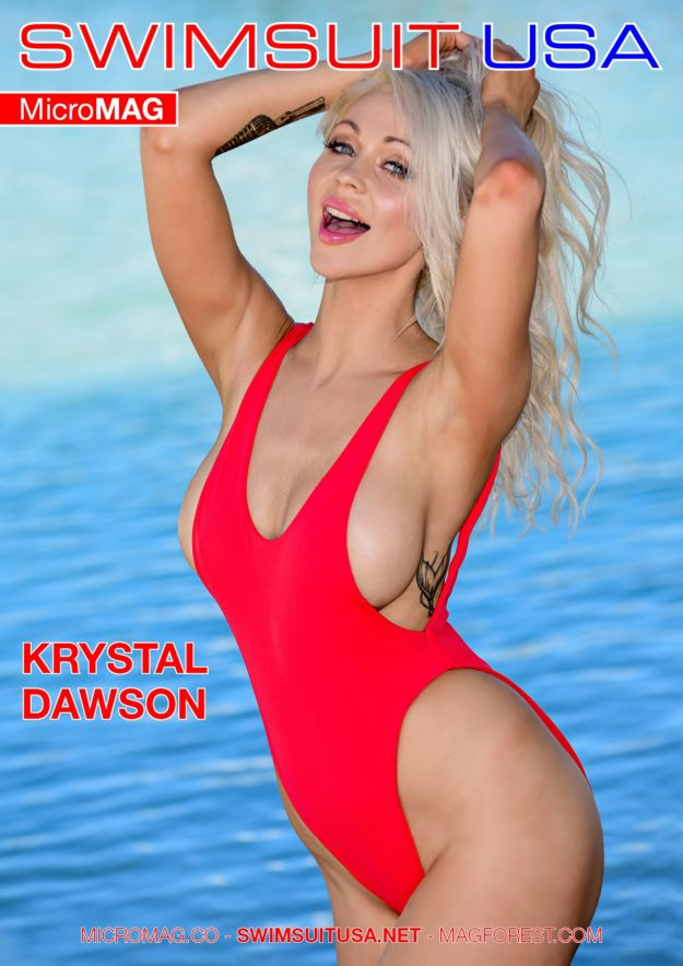 Swimsuit Usa Micromag – Krystal Dawson – Issue 2