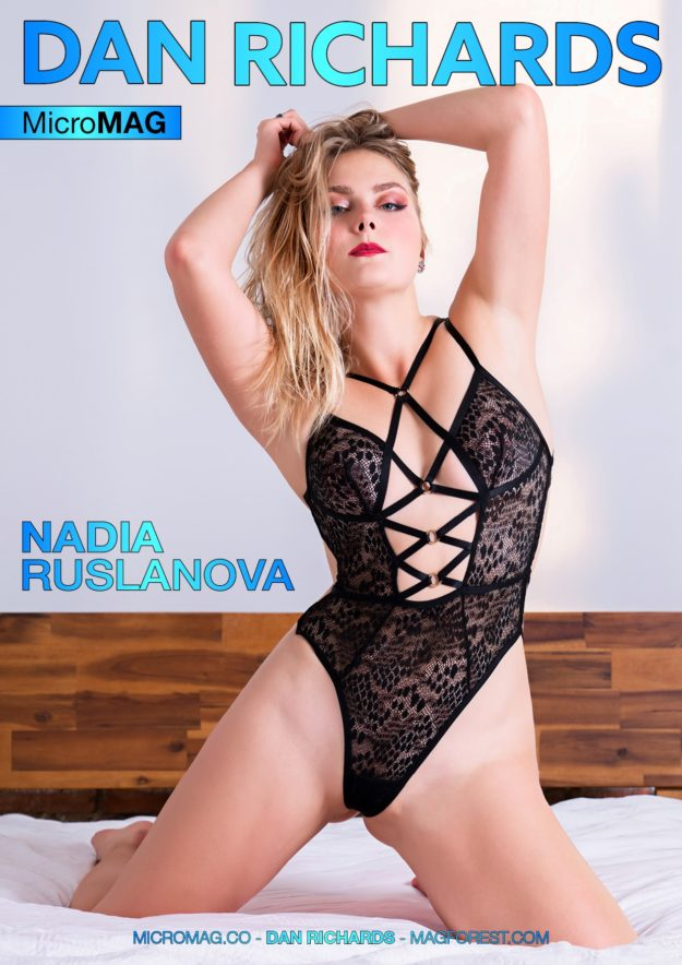Dan Richards Micromag – Nadia Ruslanova – Issue 2