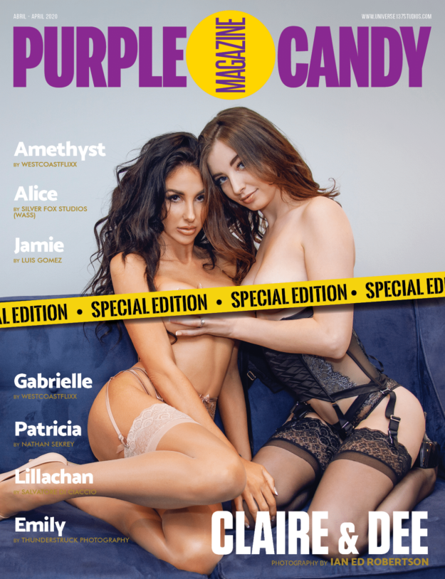 Purple Candy Magazine – April 2020 – Special Edition