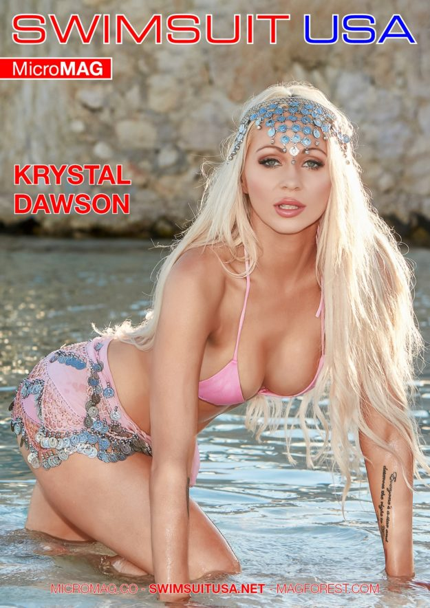 Swimsuit Usa Micromag – Krystal Dawson – Issue 3