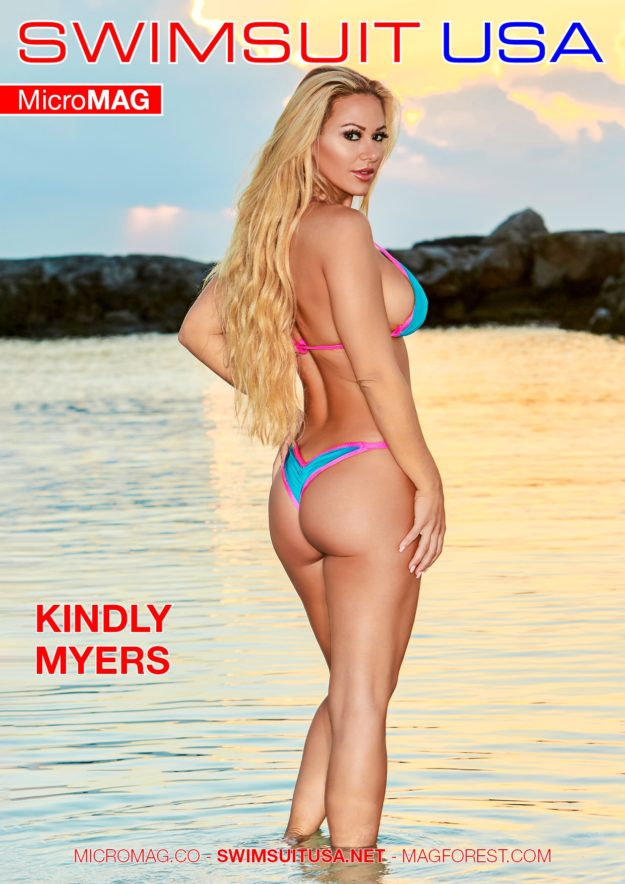 Swimsuit Usa Micromag – Kindly Myers – Issue 1