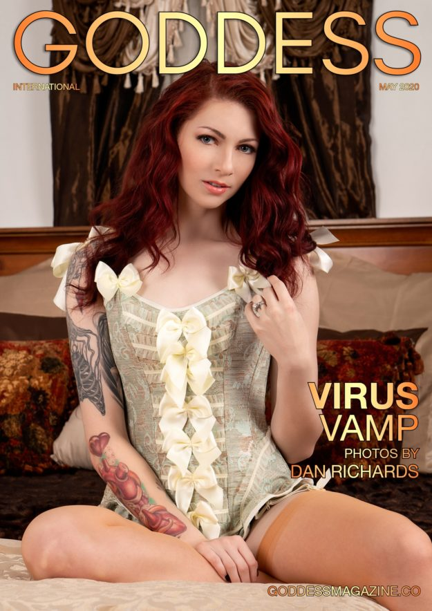 Goddess Magazine – May 2020 – Virus Vamp