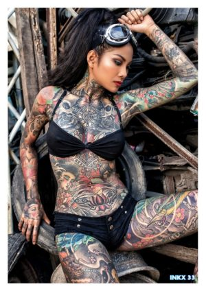 Inkx Magazine – June 2020 – Sheridan Smith