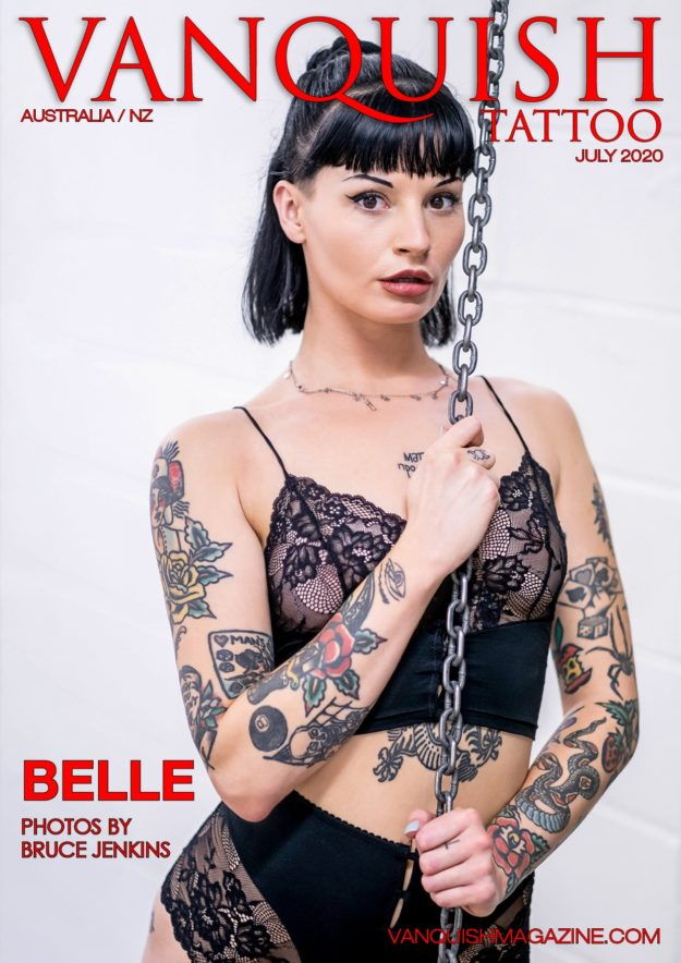 Vanquish Tattoo – July 2020 – Belle