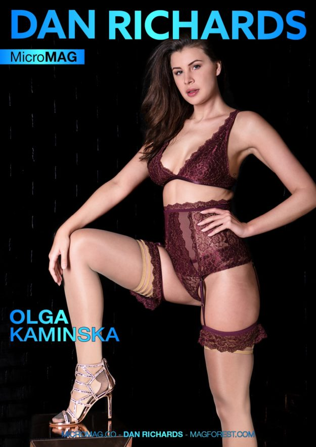 Dan Richards Micromag – Olga Kaminska – Issue 2