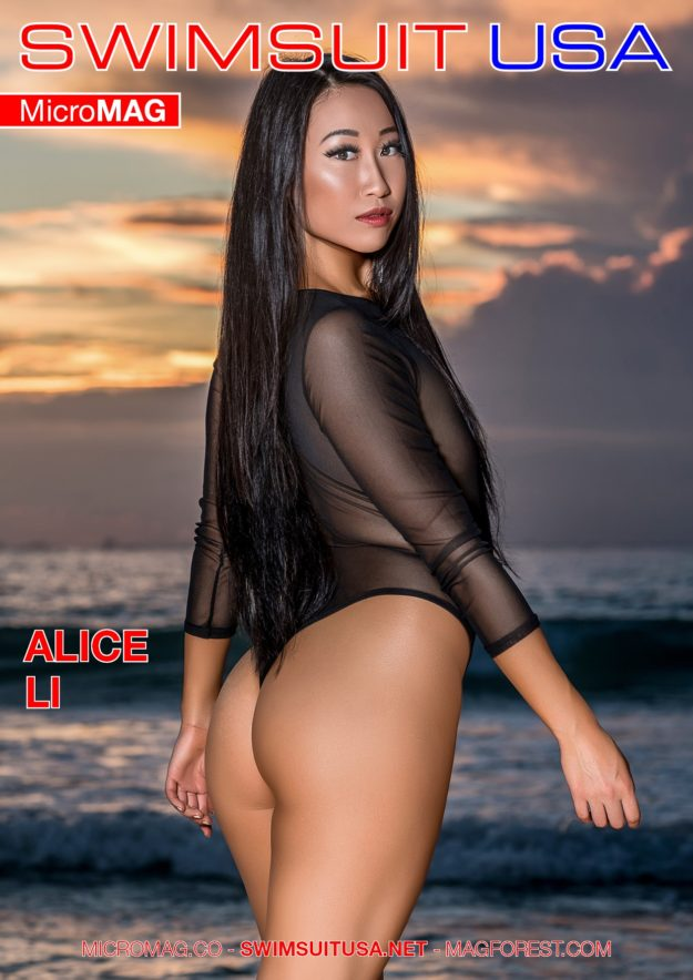 Swimsuit Usa Micromag – Alice Li