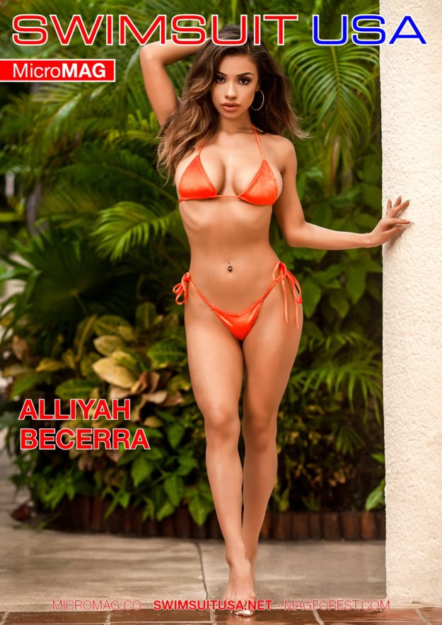 Swimsuit Usa Micromag – Alliyah Becerra – Issue 4