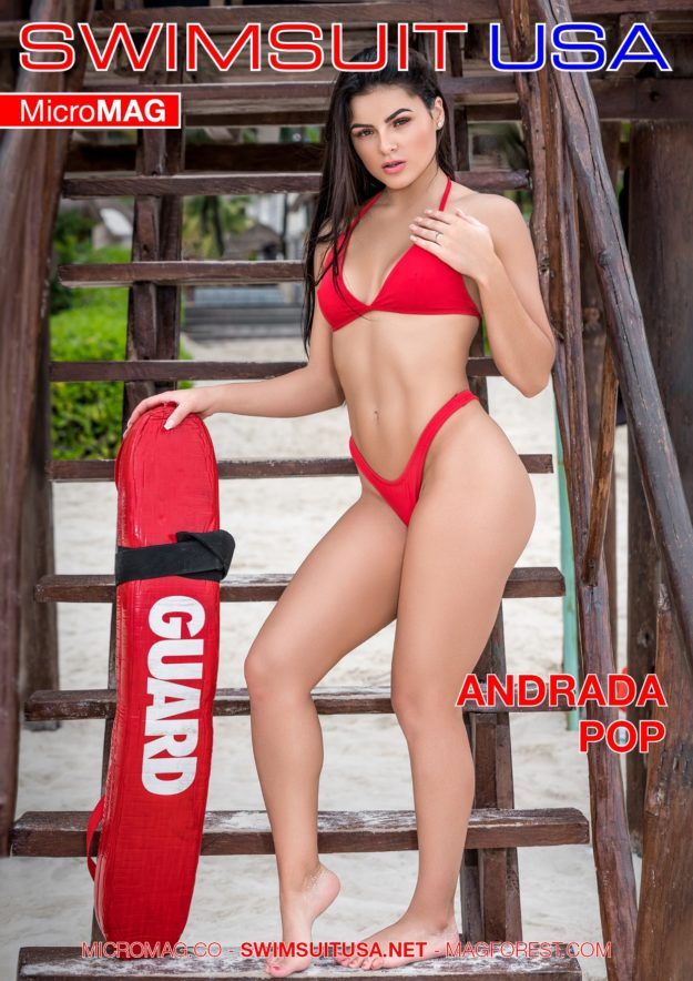 Swimsuit Usa Micromag – Andrada Pop