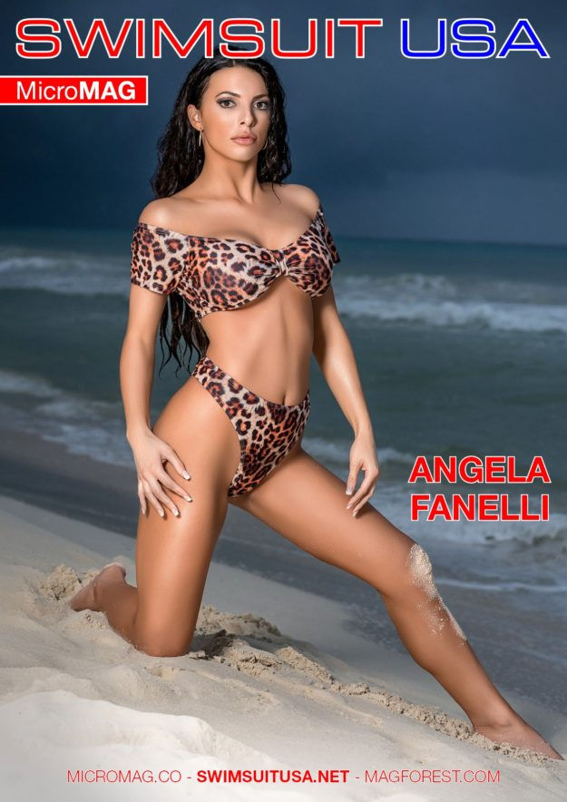 Swimsuit Usa Micromag – Angela Fanelli – Issue 2