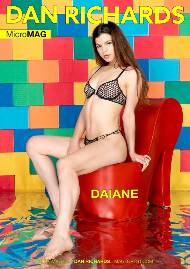 Dan Richards Micromag – Daiane – Issue 3