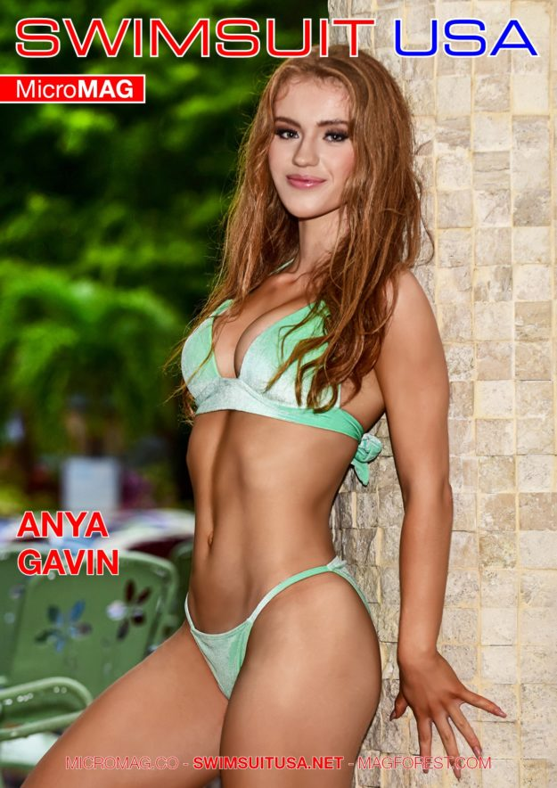 Swimsuit Usa Micromag – Anya Gavin