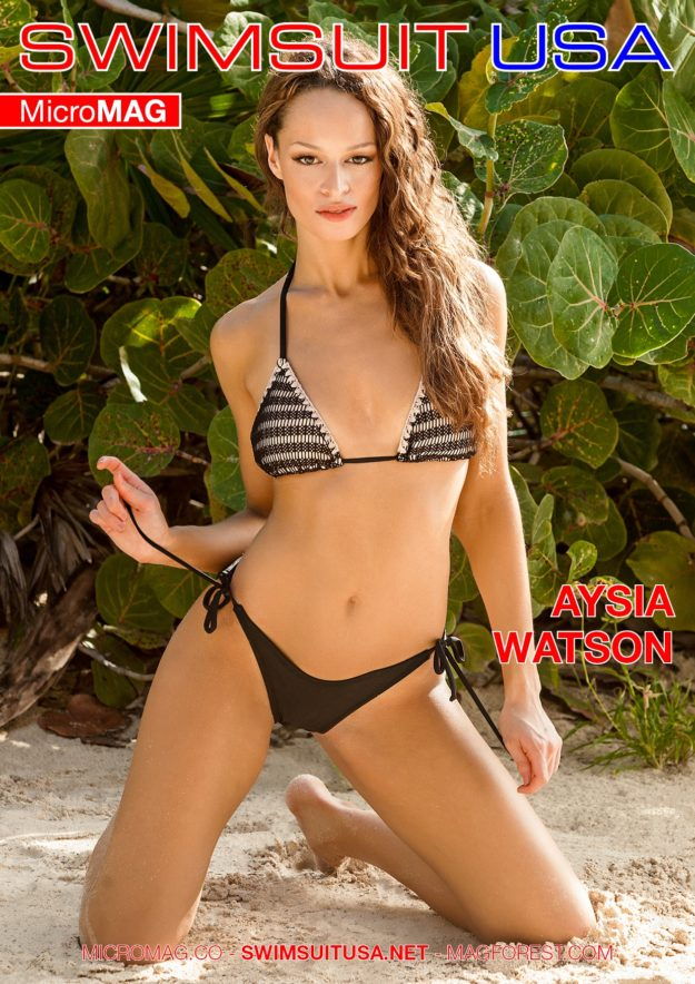Swimsuit Usa Micromag – Aysia Watson – Issue 2