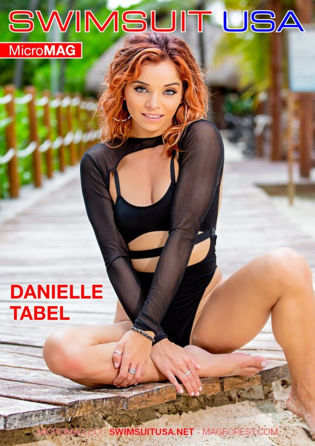 Swimsuit Usa Micromag – Danielle Tabel
