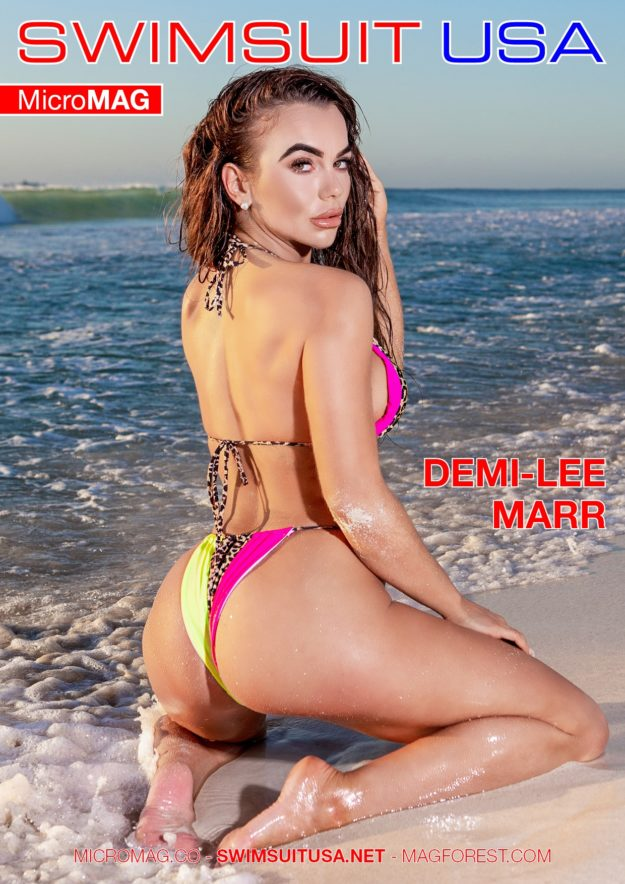 Swimsuit Usa Micromag – Demi-lee Marr