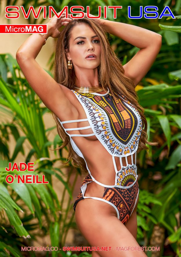 Swimsuit Usa Micromag – Jade O'neill