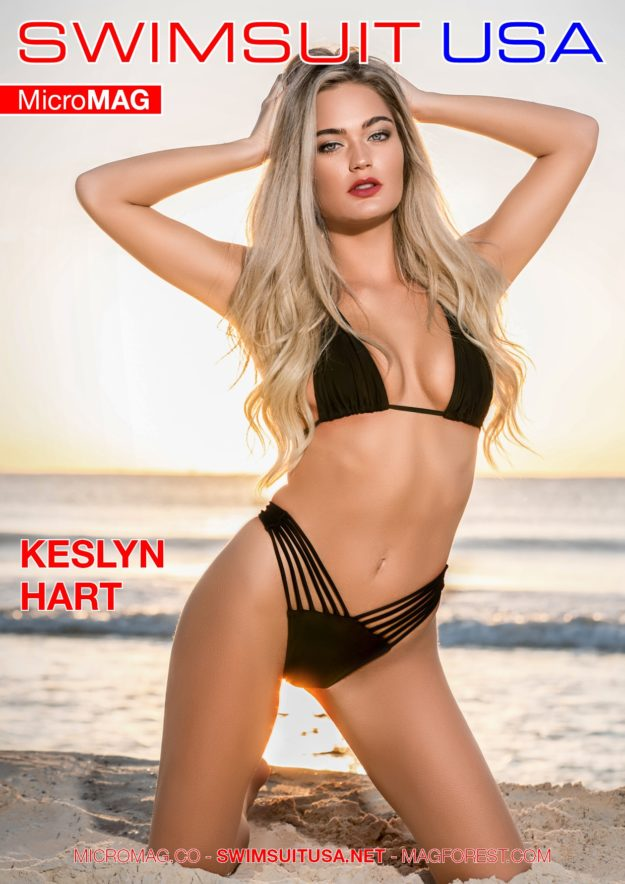 Swimsuit Usa Micromag – Keslyn Hart
