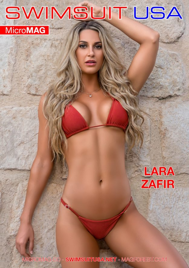 Swimsuit Usa Micromag – Lara Zafir