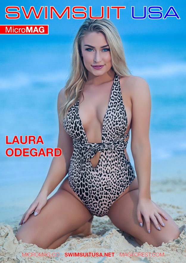 Swimsuit Usa Micromag – Laura Odegard