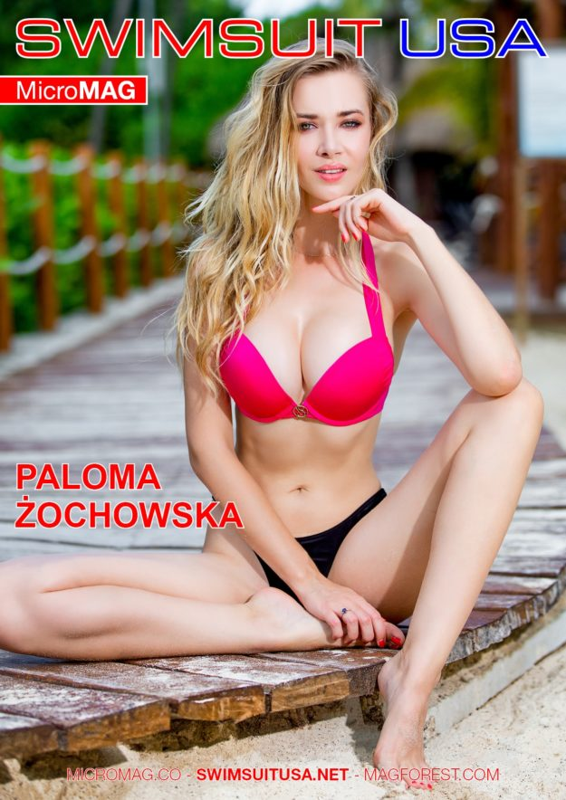 Swimsuit Usa Micromag – Paloma Żochowska