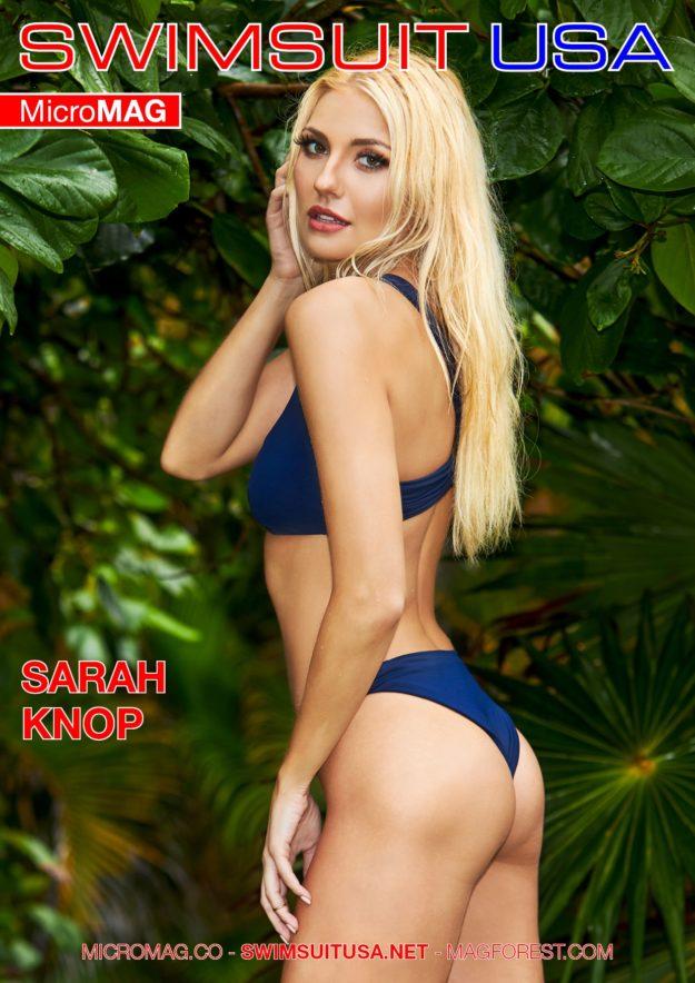 Swimsuit Usa Micromag – Sarah Knop