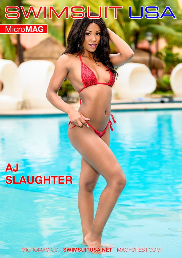 Swimsuit Usa Micromag – Aj Slaughter – Issue 2