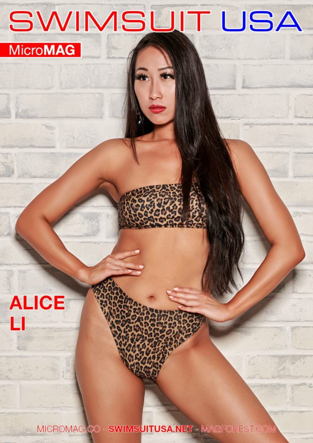 Swimsuit Usa Micromag – Alice Li – Issue 2