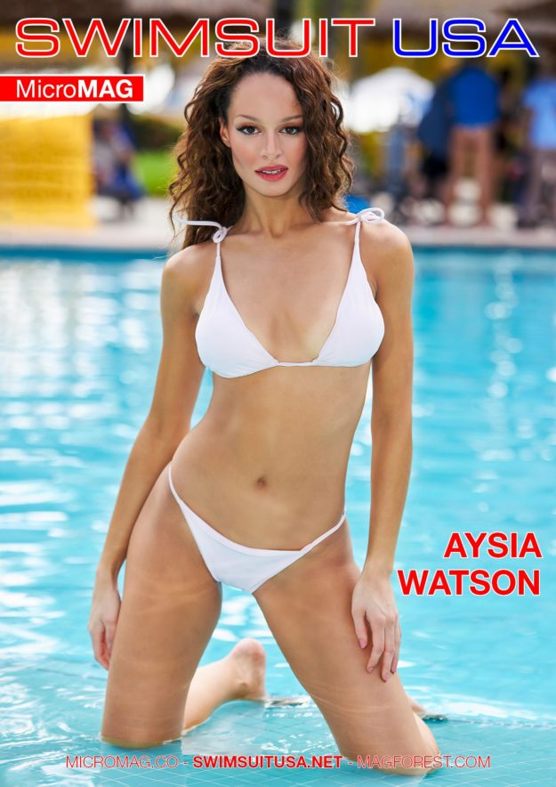 Swimsuit Usa Micromag – Aysia Watson – Issue 3