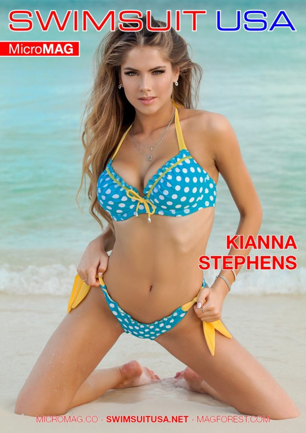 Swimsuit Usa Micromag – Kianna Stephens – Issue 2