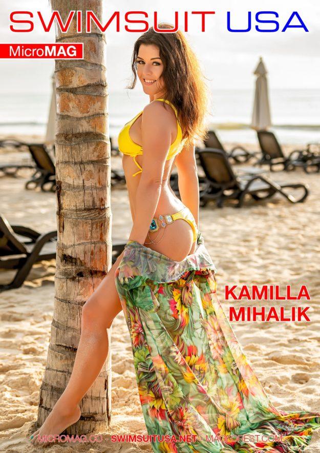 Swimsuit Usa Micromag – Kamilla Mihalik – Issue 5