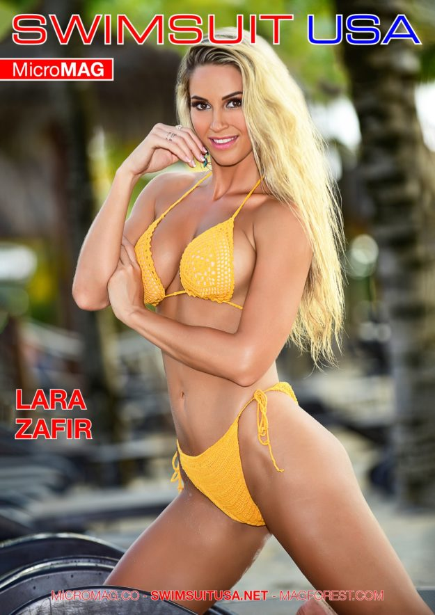 Swimsuit Usa Micromag – Lara Zafir – Issue 2