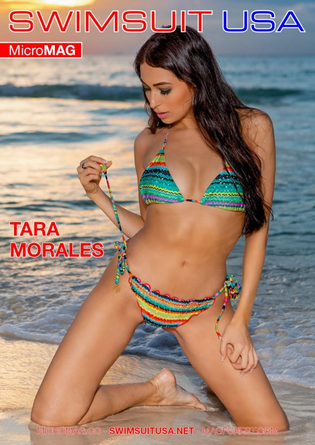 Swimsuit Usa Micromag – Tara Morales – Issue 2
