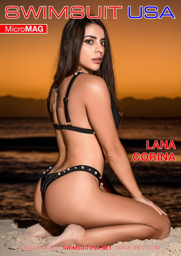 Swimsuit Usa Micromag – Lana Corina – Issue 2