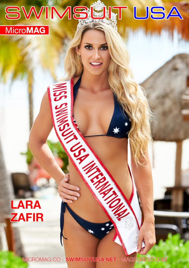 Swimsuit Usa Micromag – Lara Zafir – Issue 3