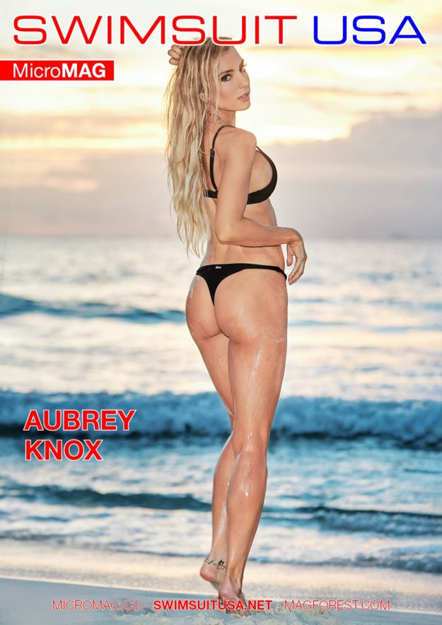 Swimsuit Usa Micromag – Aubrey Knox – Issue 6