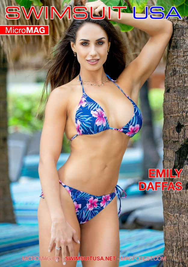 Swimsuit Usa Micromag – Emily Daffas – Issue 5