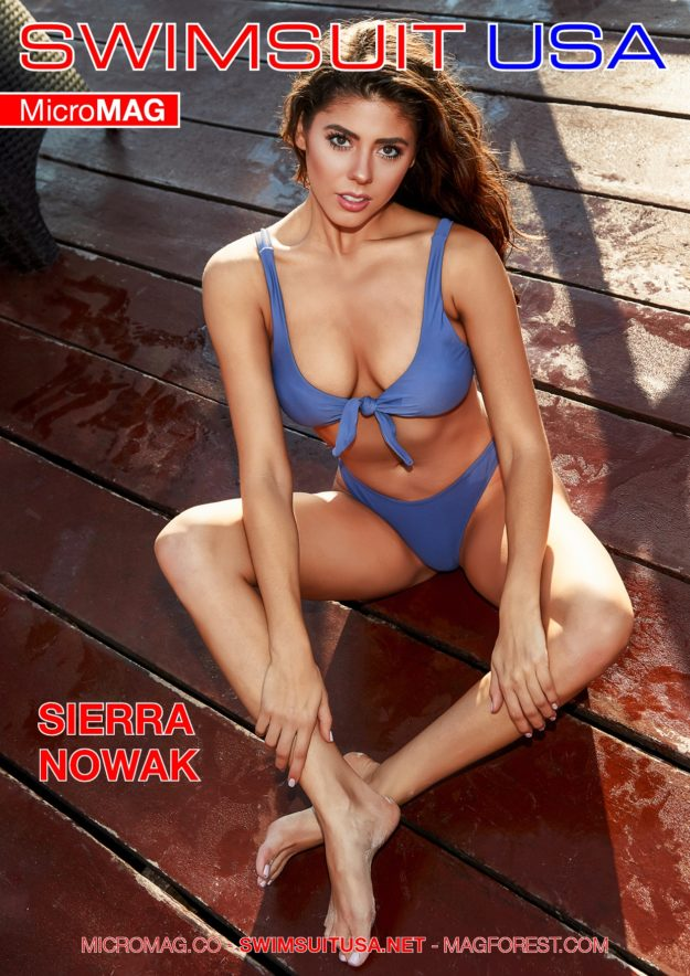 Swimsuit Usa Micromag – Sierra Nowak – Issue 7