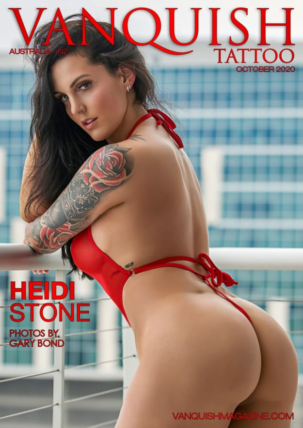 Vanquish Tattoo – October 2020 – Heidi Stone