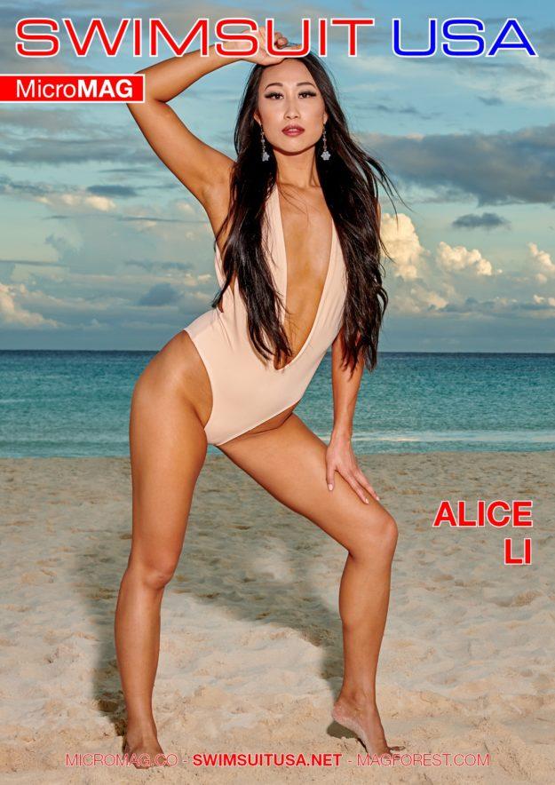 Swimsuit Usa Micromag – Alice Li – Issue 4