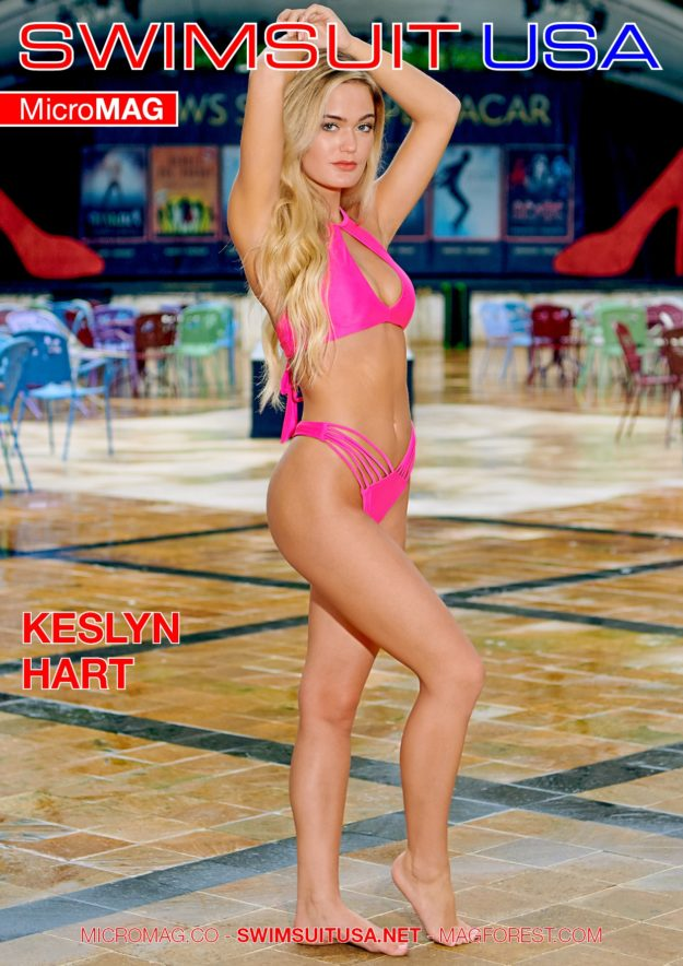 Swimsuit Usa Micromag – Keslyn Hart – Issue 4