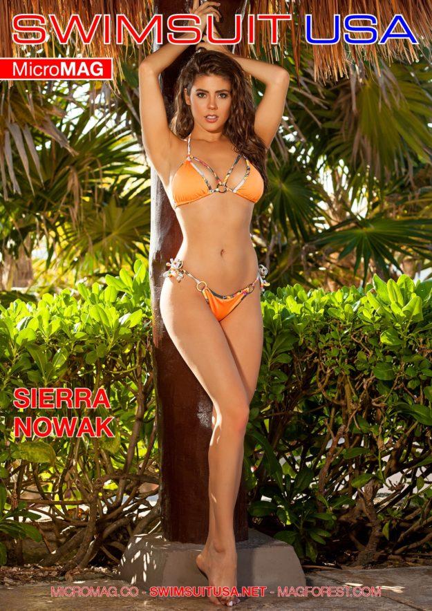 Swimsuit Usa Micromag – Sierra Nowak – Issue 9